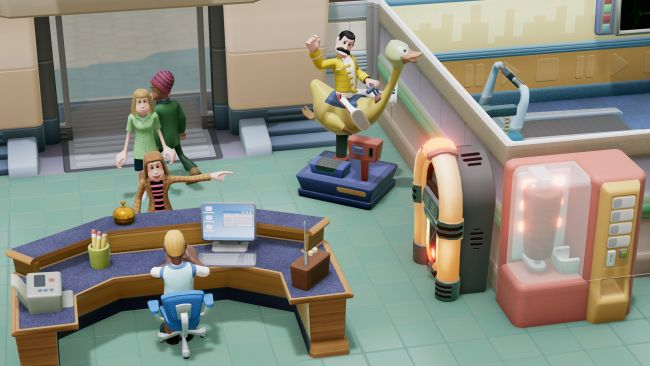 Two Point Hospital - Versione Console