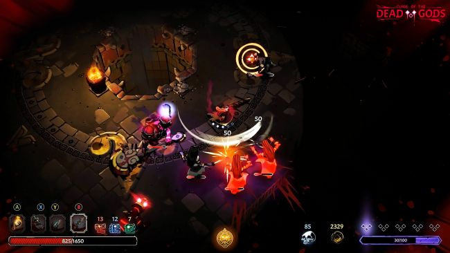 Curse of the Dead Gods - La recensione del rougelite maledetto