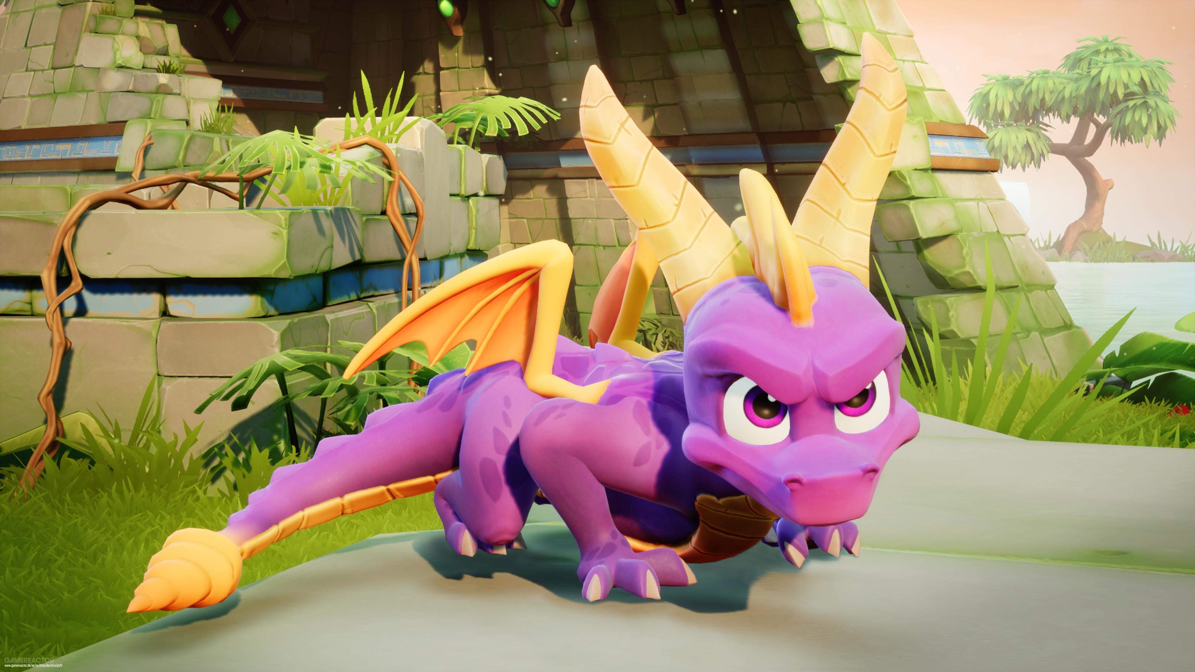 Spyro Reignited Trilogy richiede un download obbligatorio da 17 a 42 GB