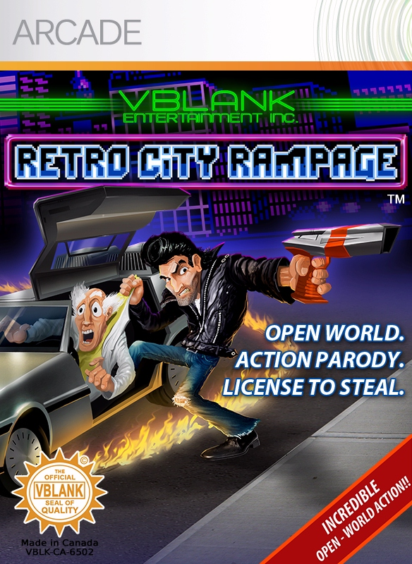 Retro City Rampage DX in arrivo su Switch