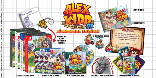 Alex Kidd in Miracle World DX arriva a fine giugno