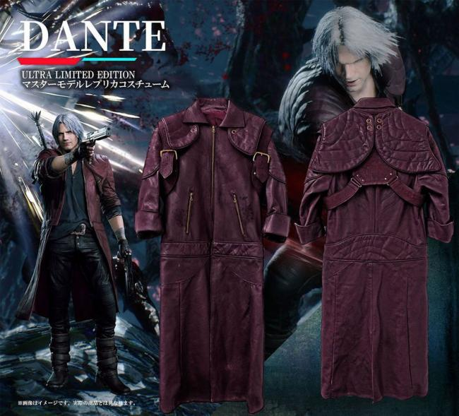 Devil May Cry 5 Ultra Limited Edtion include una replica dei cappotti di Nero e Dante