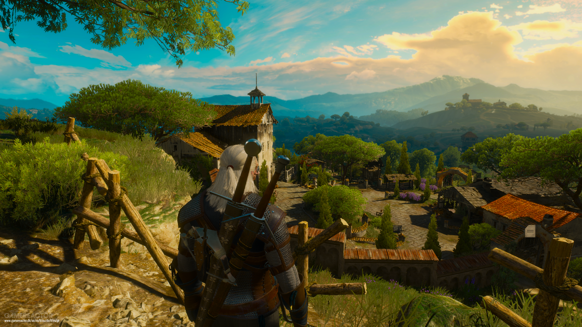 witcher 3 how to start blood and wine