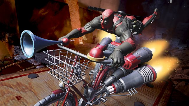 Deadpool: hands-on
