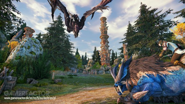 Riders of Icarus ha un nuovo trailer di gameplay