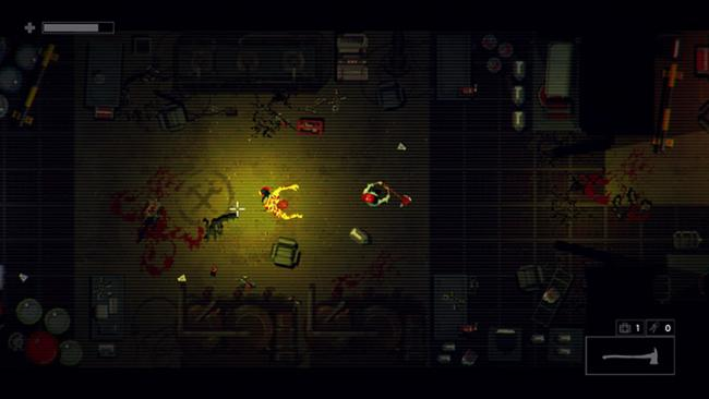 Garage è un top-down shooter ispirato all'era VHS in arrivo su Switch