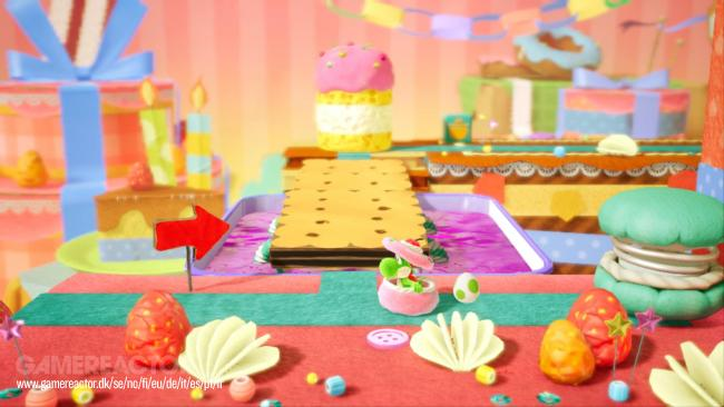 Yoshi's Crafted World - Provato