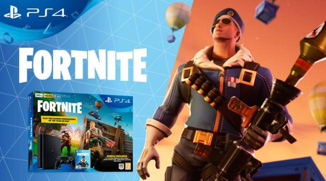 Annunciato il bundle di PS4 con Fortnite