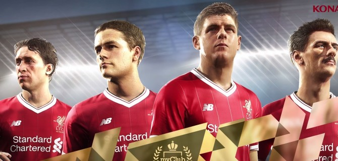Nuove leggende del Liverpool Legends in PES 2018