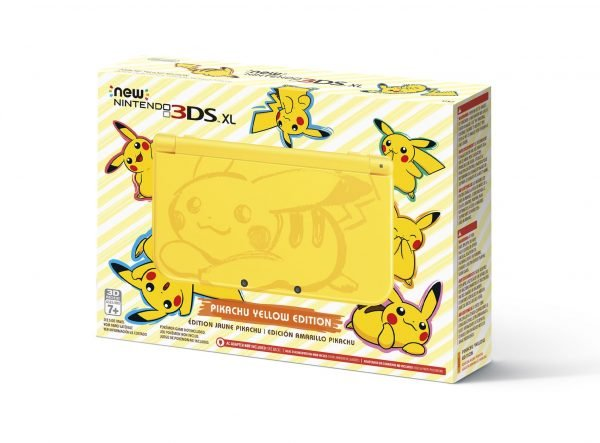Svelato il New Nintendo 3DS XL in Pikachu Yellow Edition