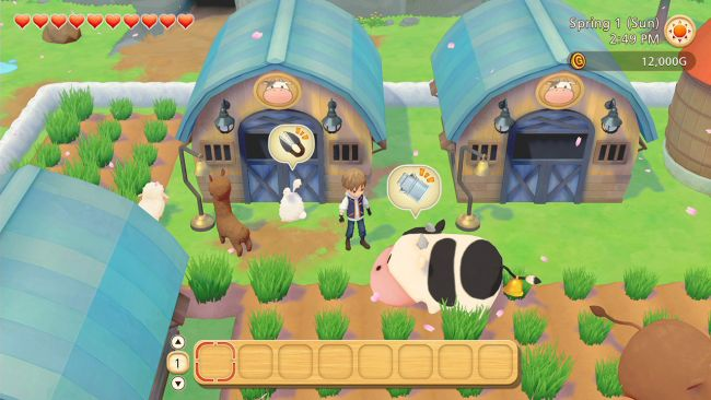 Story of Seasons: Pioneers of Olive Town arriva su Switch a marzo
