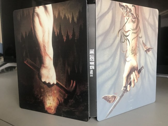 Un fan realizza uno spettacolare steelbook di The Last of Us: Parte II