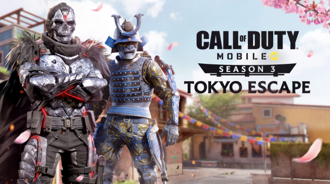 In Call of Duty: Mobile arrivano i samurai con Tokyo Escape