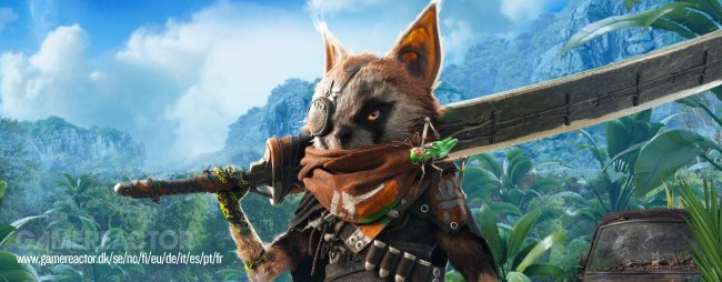 Wes è 'Q di James Bond' in BioMutant