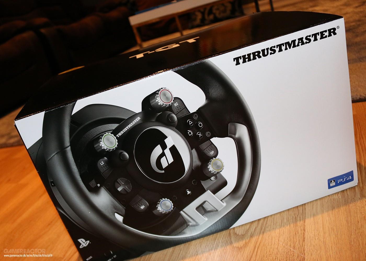 gran turismo sport il nostro unboxing del volante. Black Bedroom Furniture Sets. Home Design Ideas