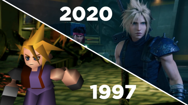 Final Fantasy VII: a confronto le versioni PS4 e PSX in un video