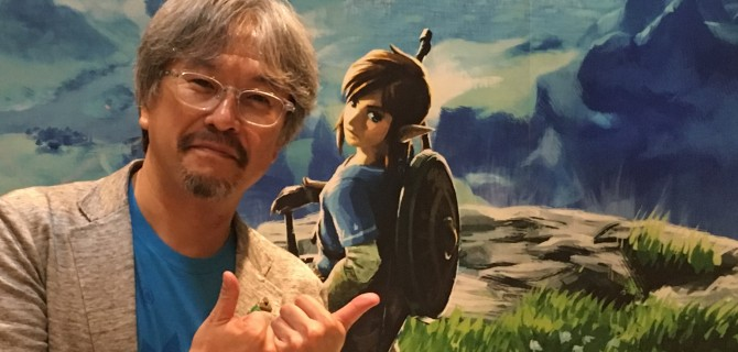 The Legend of Zelda: Link è ambidestro per Eiji Aonuma