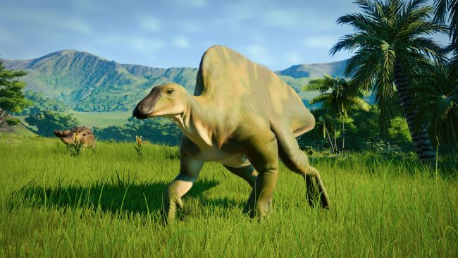 Jurassic World Evolution: disponibile l'Herbivore Dinosaur Pack