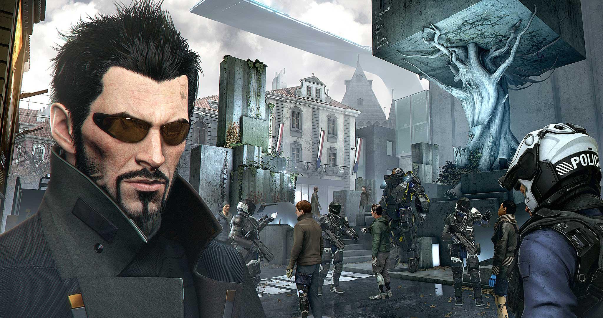 Risultati immagini per Deus Ex Mankind Divided