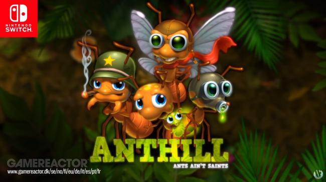Anthill arriva su Nintendo Switch a fine mese