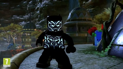 Lego Marvel Super Heroes 2 - Trailer DLC Black Panther