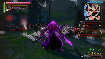 Hyrule Warriors Adventure Mode Gameplay: Ganondorf, Elemental Fairy and an Army of Cucos