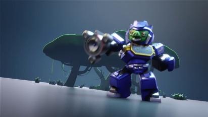 Angry Birds Transformers: Chef Pig as Soundwave Trailer