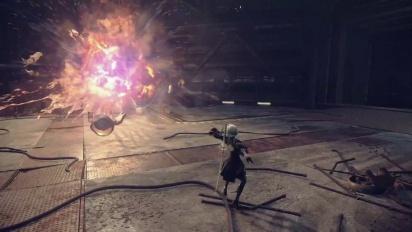 Nier: Automata – Trailer di gameplay