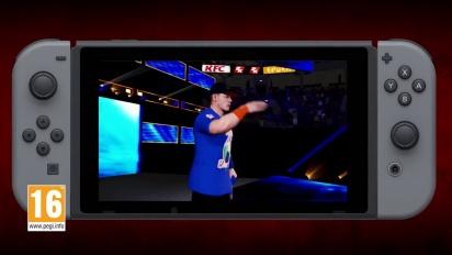 WWE 2K18 - Trailer di Lancio Nintendo Switch