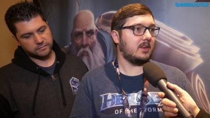 Heroes of the Storm - Intervista a Matt Villers e Kaeo Milker