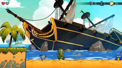 Wonder Boy: The Dragon's Trap - Mobile Version Announcement Trailer