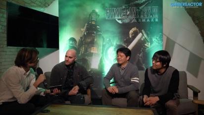 Final Fantasy VII: Remake -  Intervista a Yoshinori Kitase & Naoki Hamaguchi
