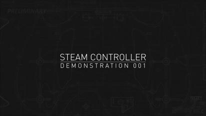 Steam Controller - Trailer di dimostrazione