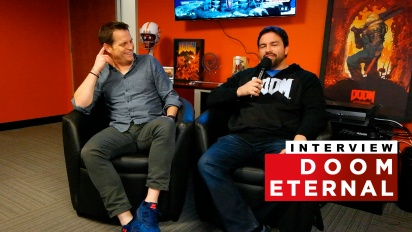 Doom Eternal - Intervista a Marty Stratton & Hugo Martin