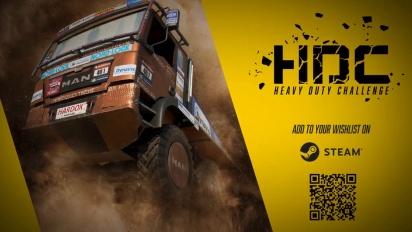 Heavy Duty Challenge - First Gameplay Teaser