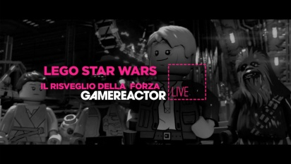 GR Live Italia - Replica Livestream di Lego Star Wars: Il Risveglio della Forza