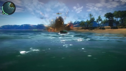 Just Cause 2 - Multiplayer 0.1.4. - Trailer nuove caratteristiche
