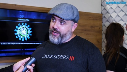 Darksiders III - Intervista a  Richard Vorodi