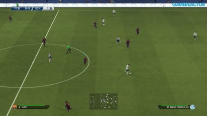 Pro Evolution Soccer 2015 - Gameplay - FC Barcelona vs. FC Schalke 04