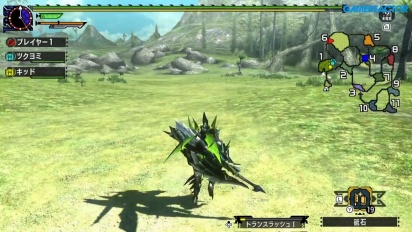 Gameplay di Monster Hunter XX su Nintendo Switch - Gran Maccao