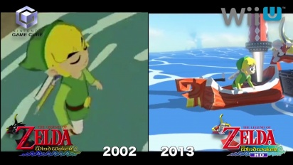 The Legend of Zelda: The Wind Waker HD - Gamecube vs. Wii U