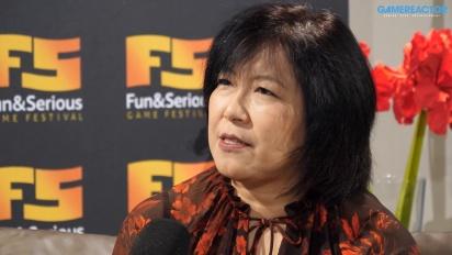 Fun & Serious 2019 - Intervista a Yoko Shimomura