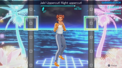 Fitness Boxing 2 - Daily Workout Gameplay