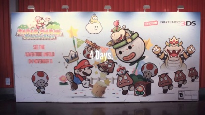 Nintendo 3DS - Paper Mario: Sticker Star Mosaic