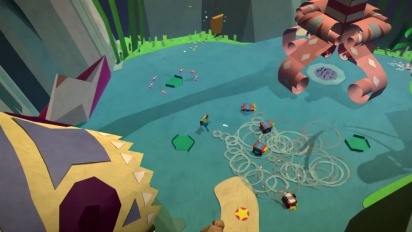 Tearaway - Origins of Papercraft World Dev diary