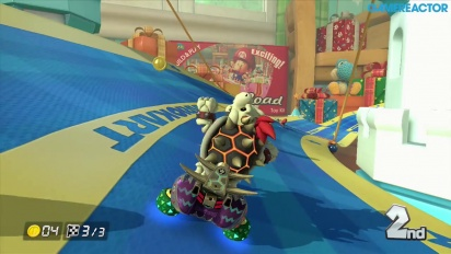 Mario Kart 8 - DLC Pack 2 Gameplay: Bell Cup