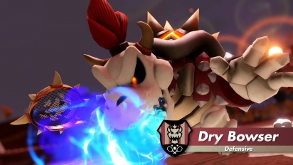 Mario Tennis Aces - Dry Bowser Trailer