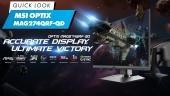 Optix MAG274QRF-QD - Quick Look & Quick Demo