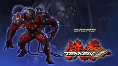 Tekken 7 - Svelato Gigas - Trailer giapponese