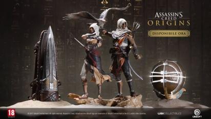 Assassin's Creed Origins - Trailer di lancio di statuine e repliche